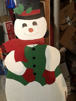 Wood Snowman X2 for Sale in Fenton,  MO