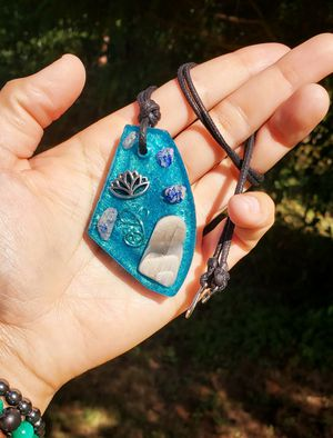 EMF protective gemstone necklace for Sale in Lynnwood, WA