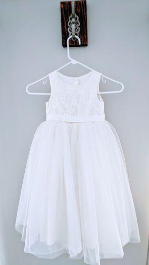David's Bridal Flower Girl Dress Ivory for Sale in Des Plaines, IL