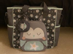 New Owl Diaper Bag for Sale in York, SC