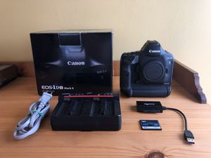 1DX Mark II + 3 Lenses Included HUGE DEAL! $4100 for Sale in Queens, NY