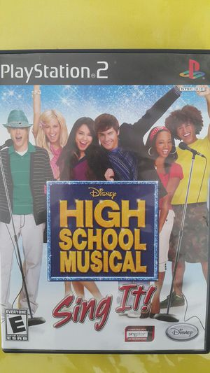 DISNEY HIGH SCHOOL MUSICAL SING IT FOR PS2 for Sale in Miami Gardens, FL