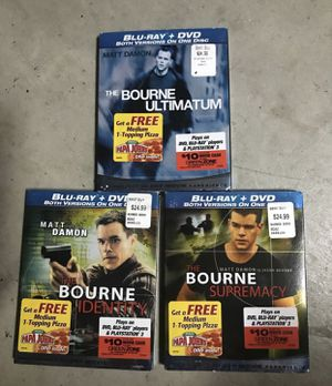The Bourne Series Blu-Ray DVDs for Sale in Murrieta, CA