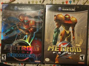 Metroid prime 1 and 2 for Sale in Los Angeles, CA
