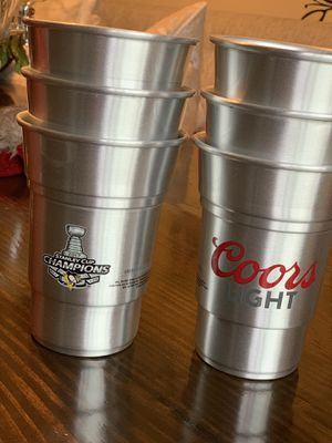 Official NHL and Coors Brewing Collectible Glasses for Sale in McKees Rocks, PA