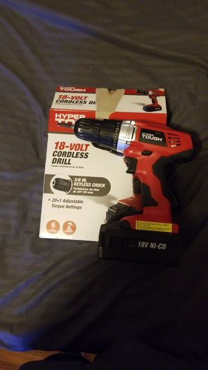 Hypertough cordless drill for Sale in Philadelphia, PA