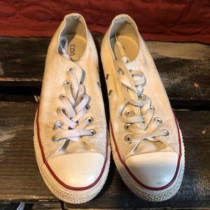 White converse chucks size 8 for Sale in San Diego, CA