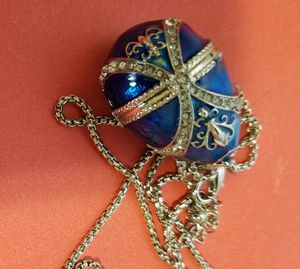 Used, Faberge pendient Egg. for Sale for sale  Bronx, NY