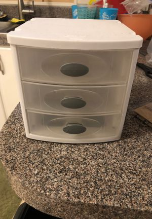 Small plastic drawers for Sale in Riverside, CA