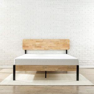 Sleep signature queen mattress + zinus queen bed frame for Sale in Burlington, VT