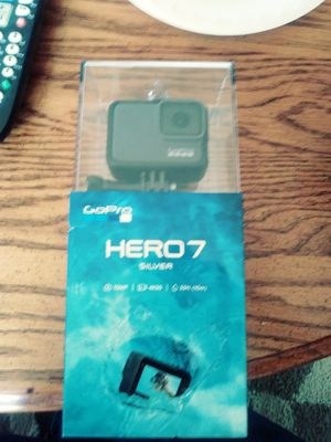 Go Pro Hero 7 SILVER edition for Sale in Aberdeen, MD