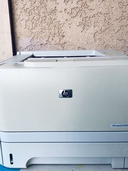 PRINTER HP LASERJET P2035 - BLACK AND WHITE COLOR - IN GOOD CONDITION for Sale in Garden Grove,  CA