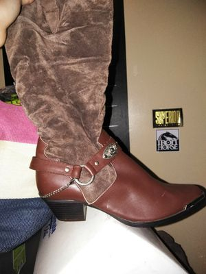 Cow girl boots for Sale in Woonsocket, RI