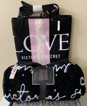 Victoria's Secret Blanket And Large Tote Bag, Brand New! for Sale in Redlands, CA
