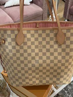 Louis Vuitton Purse Neverfull GM Azur Damier Ebene Rose Ballerina Bag for Sale in Los Angeles,  CA