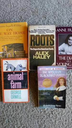 Lot of 5 classic books! for Sale in Wichita, KS
