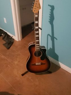 Electric Acoustic Guitar for Sale in Waco,  TX