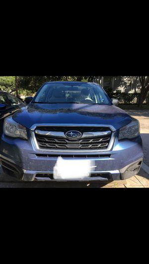 2017 Subaru Forester, Blue/Grey, AWD SUV base model, extd. warranty, new tires with warranty, serviced for Sale in Houston, TX