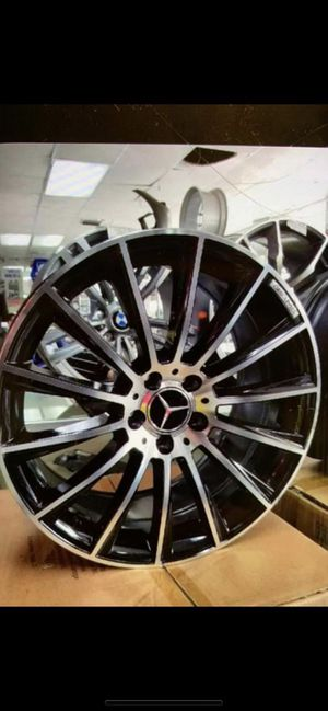 """Mercedes e320 19"""" new amg style rims tires set for Sale in Hayward, CA"""
