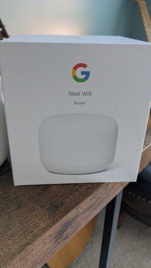 Google Nest WiFi router x2 for Sale in Atlanta, GA