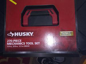 Husky 270 piece mechanics tool set for Sale in Sacramento, CA