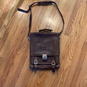 Brand New Leather Messenger Bag 💼 for Sale in Cupertino, CA