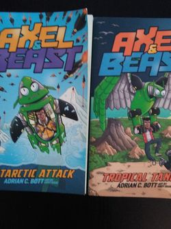 Usborne Books Axle And Beast Series Books #2, #3 for Sale in Gig Harbor,  WA