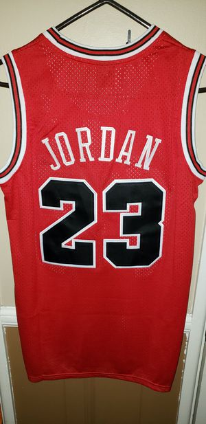 Men's Small Michael Jordan Chicago Bulls Jersey New with Tags Stiched Nike $45. Ships +$3. Pick up in West Covina for Sale in Covina, CA