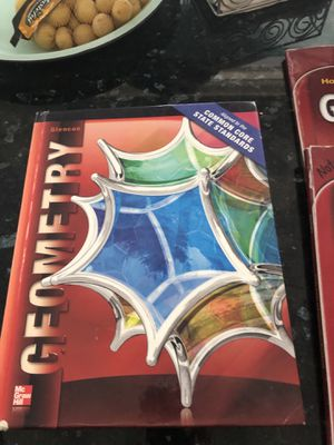 Geometry textbook and workbook/study guide for Sale in Lexington, KY