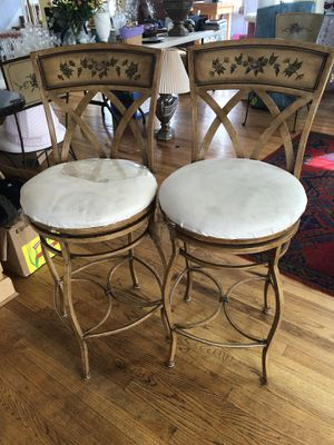 Bar Metal stools ( set of 4) for Sale in Aspen Hill, MD