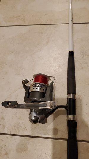 Javis Walker 5000 Fishing Reel Coastal Tuff Rod 8' Pole for Sale in Davie, FL