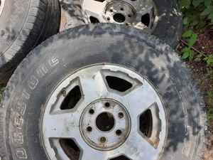 17inch stock chevy rims. 6 lug 200 obo for Sale in Pine Bluff, AR