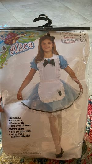 Alice in wonderland costume for Sale in San Marcos, CA