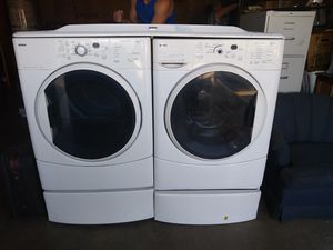 Kenmore front load washer and dryer set for Sale in Rancho Cucamonga, CA