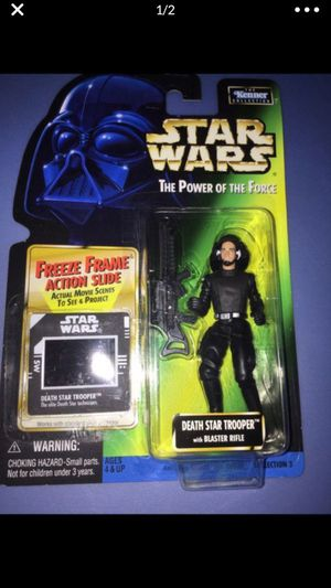 star wars the power of the force death star trooper for Sale in Cibolo, TX