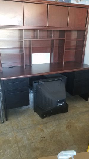 Executive Office Computer Desk Station for Sale in Sacramento, CA