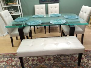Glass table set for Sale in Dublin, CA