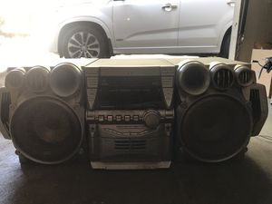 JVC STEREO SYSTEM for Sale in San Jose, CA