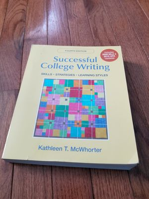 COLLEGE WRITING TEXTBOOK for Sale in Rockville, MD