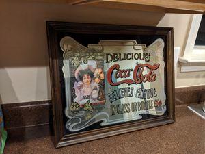 Antique Coca-Cola mirrored sign for Sale in Cumming, GA