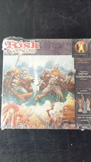 Risk God Storm, The Game of Earthly Domination and Beyond for Sale in Anaheim, CA