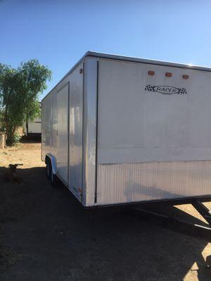Carson racer 20 dovetail trailer for Sale in Riverside, CA
