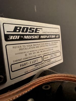 Vintage Old School Bose speakers and home speaker system for Sale in Pinellas Park, FL