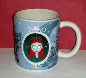 Nightmare Before Christmas SALLY Spinning Head Mug for Sale in Aspen Hill, MD