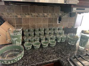 Antique glassware 40 pc set for Sale in Cranston, RI