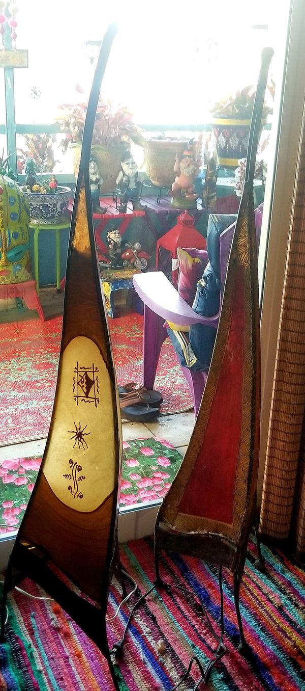 Moroccan Henna Floor Lamp
