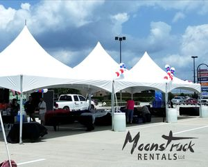 Tents, tables, chairs and linens for Sale in Spring, TX