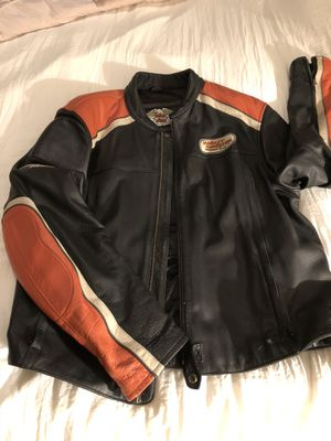 Leather Harley Davidson Motorcycle Jacket 2XL for Sale in Bronx, NY