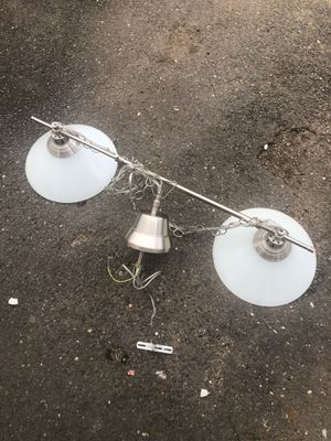 Twin ceiling hanging light for Sale in Old Bridge, NJ