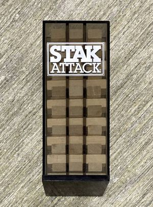 Stack Attack Wood Game Kids Children Learning Toy for Sale in Chapel Hill, NC
